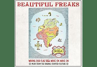 VARIOUS - Beautiful Freaks: Music From Orig.Counter-Culture  - (Vinyl)