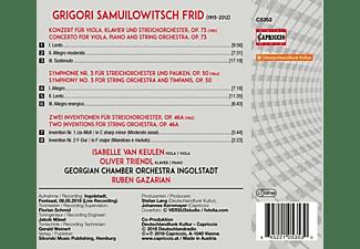 Georgisches Kammerorchester Ingolstadt, VARIOUS, Triendl, Gazarian - Werke für Orchester  - (CD)