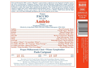 Vienna Symphony Orchestra - Amleto  - (CD)