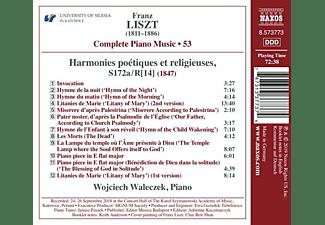 Wojciech Waleczek - Complete Piano Music,Vol.53  - (CD)