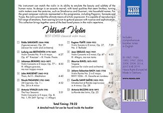 VARIOUS - Vibrant Violin  - (CD)
