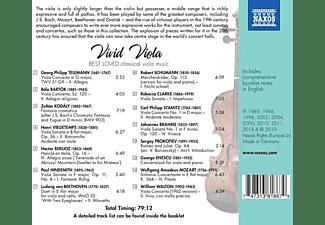 VARIOUS - Vivid Viola  - (CD)