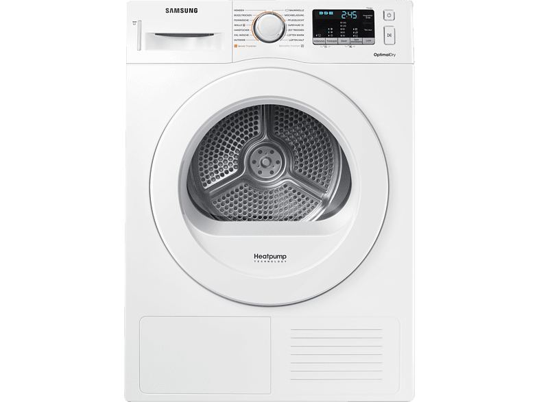 SAMSUNG DV8FM5010KW Wärmepumpentrockner (8 kg, A++)