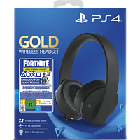 SONY Wireless-Headset Gold Edition:Fortnite Neo Versa Bundle Gaming Headset, Schwarz