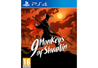 PS4 - 9 Monkeys of Shaolin /D