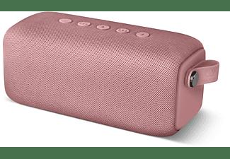FRESH N REBEL Rockbox Bold M Bluetooth Lautsprecher, Rosa, Wasserfest