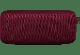 FRESH N REBEL Rockbox Bold M Bluetooth Lautsprecher, Rubinrot, Wasserfest