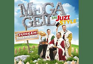 Die Jungen Zillertaler - MEGAGEIL im JUZI-Style  - (CD)