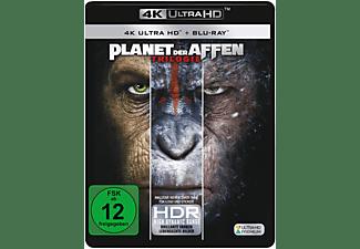 Planet der Affen: Trilogie 4K Ultra HD Blu-ray + Blu-ray