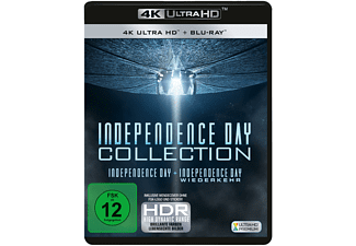 Independence Day Collection: Independence Day + Independence Day: Wiederkehr 4K Ultra HD Blu-ray + Blu-ray