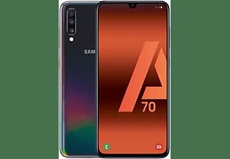"Móvil - Samsung Galaxy A70, Negro, 128 GB, 6 GB RAM, 6.7"" Full HD+, SM6150, 4500 mAh, Android"