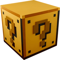 PALADONE PRODUCTS Super Mario Fragezeichen-Block Licht Sound ca.20cm Leuchte, Gelb