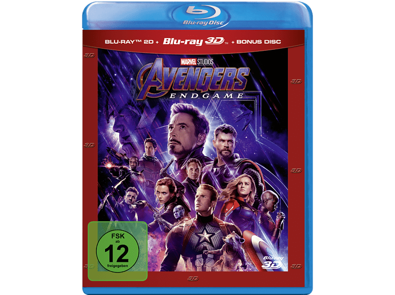 Avengers - Endgame [3D Blu-ray (+2D)]