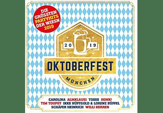 VARIOUS - Oktoberfest München-Größte Wiesn Partyhits 2019  - (CD)