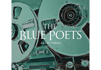 The Blue Poets - All It Takes  - (CD)