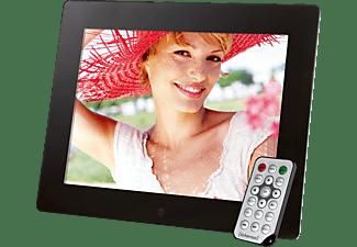 INTENSO 3925860 MEDIA GALLERY Digitaler Bilderrahmen, 24,6 cm, 1024 x 768 Pixel, Schwarz
