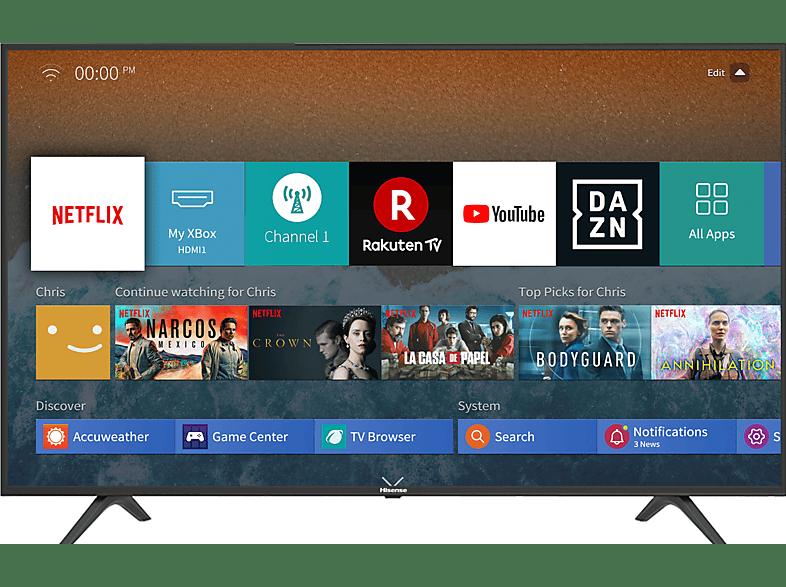 [mediamarkt.at] HISENSE Fernseher H50BE7000 50 Zoll 4K UHD Smart TV um 288€ anstatt 360€