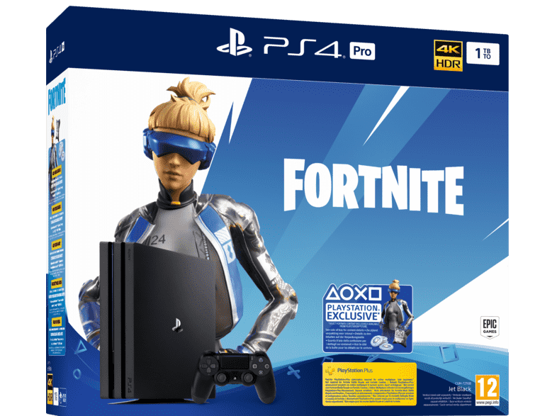 Sony Playstation 4 Pro 1tb Fortnite Neo Versa Bundle Online
