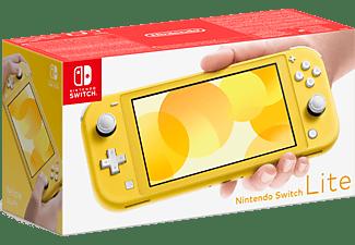NINTENDO Switch Lite Yellow + New Super Mario Bros. U Deluxe