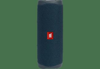 JBL Flip 5 Bluetooth-Lautsprecher, Blau, Wasserfest