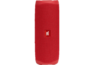JBL Flip 5 Bluetooth-Lautsprecher, Rot, Wasserfest
