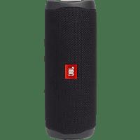 JBL Flip 5 Bluetooth-Lautsprecher, Schwarz, Wasserfest