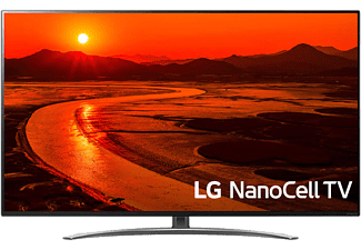 LG 49 SM8600PLA NanoCell SMART LED televízió, 124 cm, 4K Ultra HD, HDR, webOS ThinQ AI