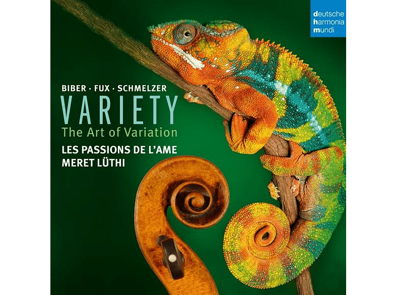 Les Passions De L'ame - Variety-Variation in Music for Violin [CD]
