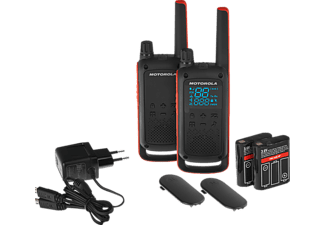 MOTOROLA Motorola TALKABOUT T82 Walkie Talkie Schwarz