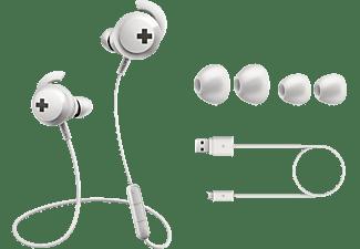PHILIPS SHB 4305 WT/00, In-ear Kopfhörer Bluetooth Weiß