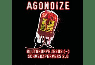 Agonoize - Blutgruppe Jesus (-)/Schmerz  - (CD)