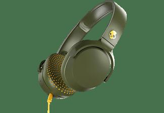 SKULLCANDY S5PXY-M687, On-ear Kopfhörer Olive Gelb