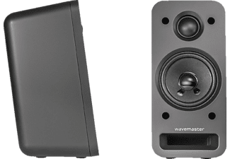 WAVEMASTER MX3+ BT 2.1 Aktivlautsprecher (50 Watt) mit Bluetooth-Streaming Soundsystem