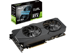 ASUS GeForce® RTX 2080 SUPER™ Dual Evo OC 8GB (90YV0DJ0-M0NM00) (NVIDIA, Grafikkarte)