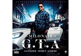 Milonair - G.T.A.(Gangster Ticken Anders)  - (CD)