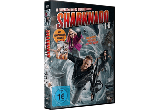 SHARKNADO 1-6 DELUXE BOX-EDITION DVD