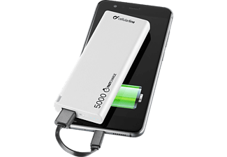 CELLULAR LINE FreePower Slim - Powerbank (Weiss)