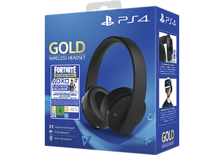 SONY PS PS4 Headset Gold Edition: Fortnite Neo Versa Bundle -
