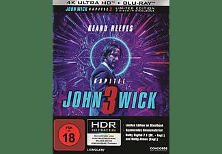 John Wick: Kapitel 3 (Limited Steelbook) 4K Ultra HD Blu-ray + Blu-ray