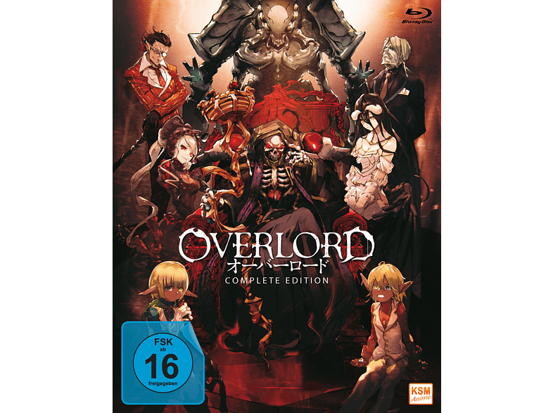 Overlord - Complete Edition (13 Episoden) [Blu-ray]