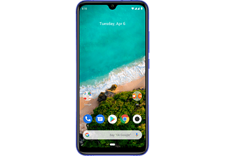 "REACONDICIONADO Móvil - Xiaomi Mi A3, Azul, 64 GB, 4 GB RAM, 6.08"", Snapdragon TM665, 4030 mAh, Android"