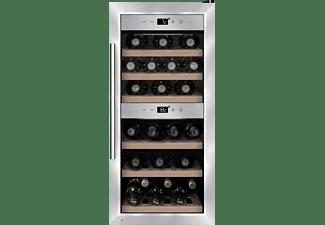 CASO 645 WineComfort 24 Weinklimaschrank (EEK G, Edelstahl)