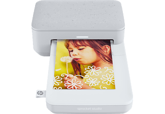 HP Fotodrucker Sprocket Studio Photo Printer, weiß (3MP72A)
