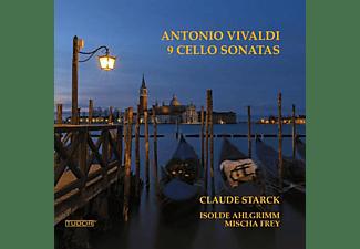 Claude Starck \ Isolde Ahlgrimm \ Mischa Frey - 9 Cellosonaten  - (CD)
