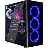 CAPTIVA I50-282, Gaming PC mit Core™ i5 Prozessor, 16 GB RAM, 240 GB SSD, 1 TB HDD, GeForce RTX 2080 SUPER , 8 GB