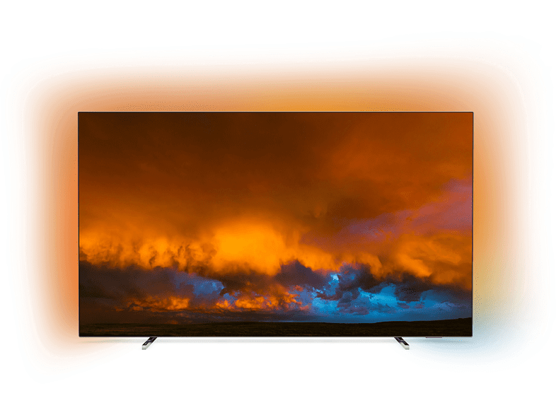OLED TV PHILIPS 55OLED80412 OLED TV (Flat, 55 Zoll 139 cm, OLED 4K, SMART TV, Ambilight, Android™ 9.0 (P)) | MediaMarkt