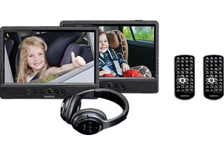 LENCO DVP-1047 Tragbarer DVD-Player, Schwarz