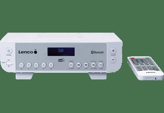 LENCO KCR-200WH Küchenradio, PLL, DAB+, FM, Bluetooth, Weiß