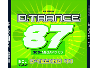 VARIOUS - D.Trance Vol.87 (incl.D.Techno 44)  - (CD)