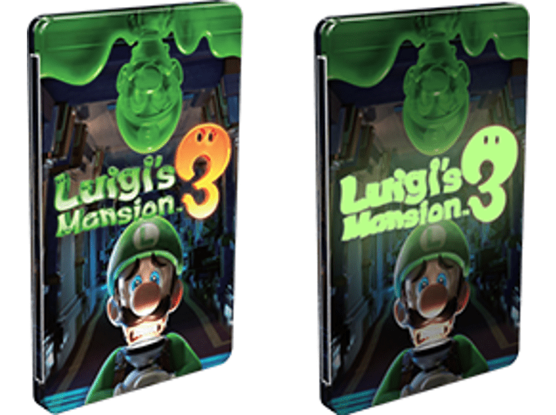 Luigi's Mansion 3 Day Night Steelbook [Nintendo Switch]